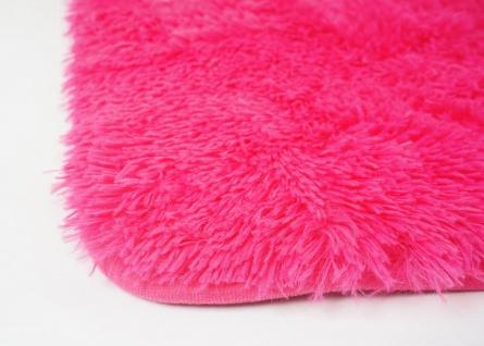 Teppich HWC-F69, Shaggy Läufer Hochflor Langflor, Stoff/Textil flauschig weich 160x120cm - Vorschau 4