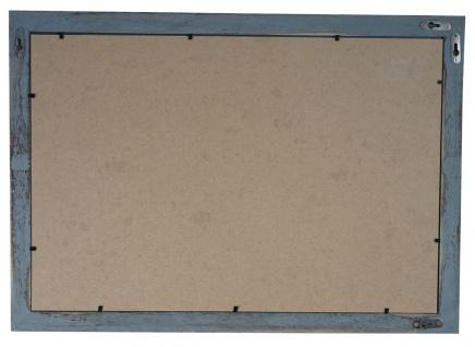 Bilderrahmen T249, Fotorahmen Holzrahmen Wand-Rahmen, 26x36cm Shabby-Look Landhaus ~ grau - Vorschau 3