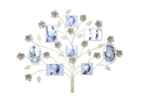 Bilderrahmen H04, Multibilderrahmen Wanddekoration Wanddeko, Blumen, 94x73x6cm