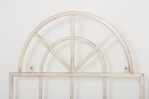 Wandrankhilfe CP371, Rankhilfe Rankgitter, Eisen ~ 180cm, antik-creme - Vorschau 4