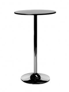 Stehtisch CP338, Gartentisch, 105cm schwarz