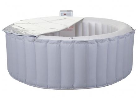 Whirlpool MSpa HWC-A62 Glow, 4 Personen In-/Outdoor LED heizbar aufblasbar Ø 180cm FI-Schalter - Vorschau 2