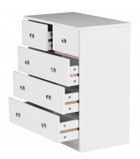 Kommode A082, Schubladenkommode Schrank Sideboard, 70x60x35 - Vorschau 2