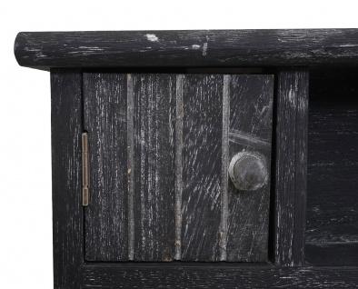 Schlüsselbrett HWC-A48, Schlüsselkasten Schlüsselboard mit Türen, Massiv-Holz ~ shabby grau - Vorschau 5