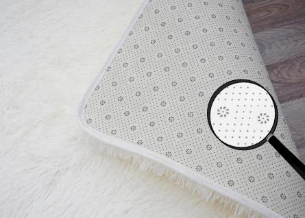 Teppich HWC-F69, Shaggy Läufer Hochflor Langflor, Stoff/Textil flauschig weich 160x120cm - Vorschau 5