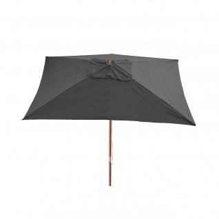 Sonnenschirm Florida, Gartenschirm Marktschirm, 3x4m Polyester/Holz 6kg - Vorschau 2