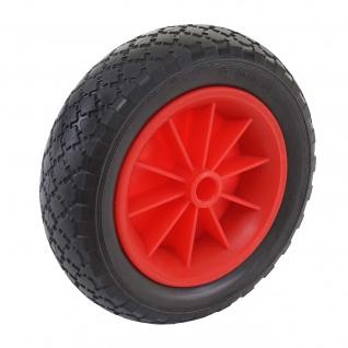 Ersatzrad für Bollerwagen, Reifen Sackkarrenrad, PU Rad 260x80 mm - Vorschau 2
