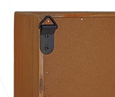 Setzkasten HWC-F35, Wandregal Sammlerkasten, Shabby-Look Vintage 70x45x8cm - Vorschau 5