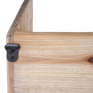 Wandregal HWC-A43, Hängeregal Regal, Tanne Holz massiv Vintage Shabby-Look 71x18x16cm - Vorschau 5