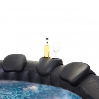Comfort-Set für Whirlpool HWC-E32, Nackenstütze Getränkehalter, Zubehör