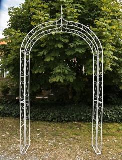 "Rosenbogen Rankhilfe "" Lenz"", Eisen antik-weiß"