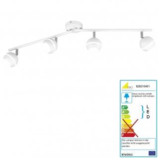 Trio LED Deckenleuchte RL183, Deckenlampe, inkl. Leuchtmittel EEK A+ 4 flammig 15, 2W
