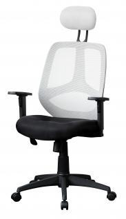 Bürostuhl A105, Chefsessel Drehstuhl, Textil