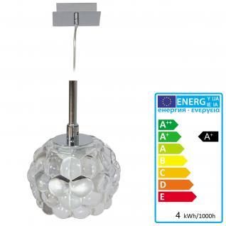 LED-Deckenleuchte HW111, Pendelleuchte Hängeleuchte Deckenlampe, 1-flammig EEK A+ 4W-LED