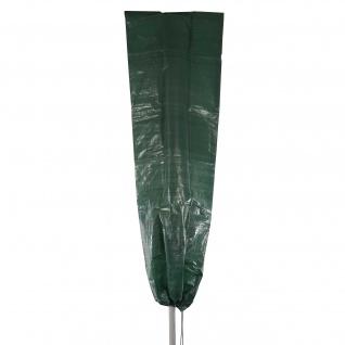 Abdeckplane Abdeckhaube Schutzplane Schutzhülle Regenschutz für Ampelschirme, 250x80cm
