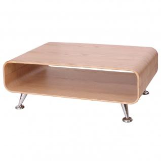 Couchtisch HWC-B97 XXL, Tisch Loungetisch Club Tisch, 33x90x60cm Eiche natur - Vorschau 5