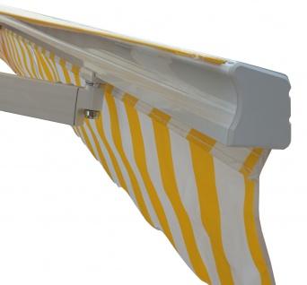 Alu-Markise HWC-E49, Gelenkarmmarkise Sonnenschutz 2, 5x2m - Vorschau 3