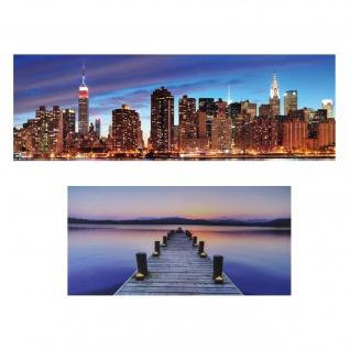 LED-Pinnwand, Pinboard Memoboard Leuchtbild, Timer ~ 110x55cm Steg