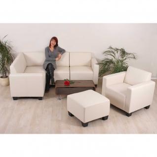 Modular Sofa-System Garnitur Lyon 4-1-1 ~ creme