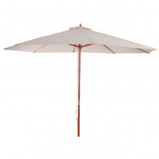 Sonnenschirm Florida, Gartenschirm Marktschirm, Ø 3, 5m Polyester/Holz 7kg - Vorschau 4