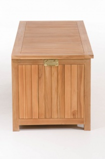 Gartenbox CP453, Gartentruhe Kissenbox 160x62x60 teak - Vorschau 3