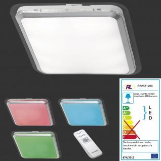 Reality|Trio LED-Deckenleuchte RL135, Effektleuchte, Farbwechsel RGB 13W EEK A+