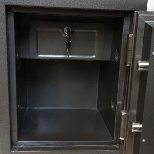 Tresor Tokio T133, Panzerschrank Safe, 1h feuerfest bis 1010°C 58kg 50x35x35cm 0, 9mm Stahlstärke - Vorschau 2