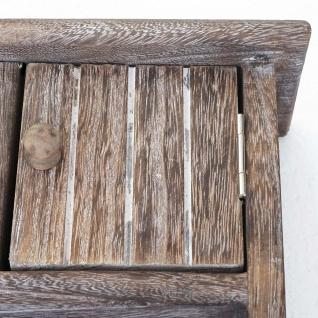 Schlüsselbrett HWC-A48, Schlüsselkasten Schlüsselboard mit Türen, Massiv-Holz ~ shabby braun - Vorschau 4
