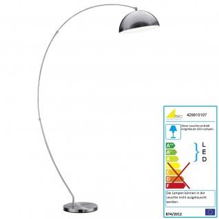 Trio Osram LED Bogenlampe RL177, Stehleuchte Standleuchte Bogenleuchte, dimmbar 183cm EEK A+ 18W