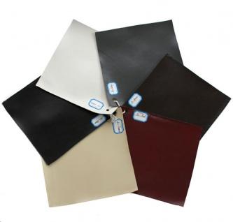 Farbmuster für Möbel aus beschichtetem Spaltleder