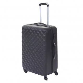 Koffer HWC-D54, Reisekoffer Hartschalenkoffer Trolley, 72x50x30cm ca. 100l - Vorschau 2