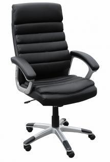 Drehstuhl Chefsessel Bürostuhl A13 Leder Schwarz Kaufen Bei