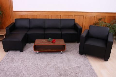Modular Sofa-System Garnitur Lyon 3-1-1-1 schwarz - Vorschau 2
