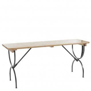 Tisch Linz für Festzeltgarnitur, Biertisch Bierzelttisch, lackiert 180 cm