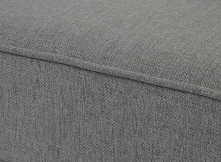 3-1-1 Sofagarnitur Malmö T377, Couch, Retro grau, Textil - Vorschau 4