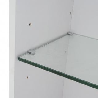 Hängeschrank HWC-B19, Midischrank Hochschrank Badezimmer Badmöbel, hochglanz 150x30cm ~ weiß - Vorschau 5