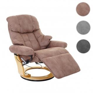 MCA Relaxsessel Calgary 2, Fernsehsessel Sessel, Stoff/Textil 150kg belastbar