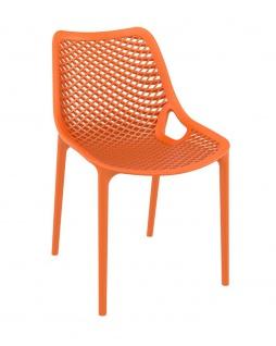 Gartenstuhl CP336, Bistrostuhl Stuhl ~ orange