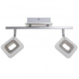Trio LED Deckenleuchte RL195, Deckenlampe ~ 2-flammig, 8, 6W