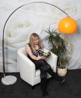 Schirm f. Bogenlampe LOUNGE DEAL II Ø 40cm orange - Vorschau 5