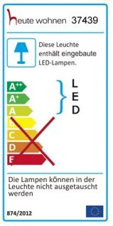 LED-Hängeleuchte HW152, Deckenlampe, Kristallglas 8W EEK A - Vorschau 2