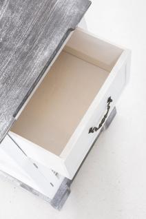Nachttisch CP618, Kommode Beistelltisch Schrank, 60x38x28cm - Vorschau 3