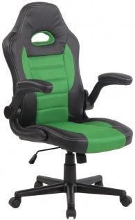 Bürostuhl CP115, Bürosessel Drehstuhl ~ grün