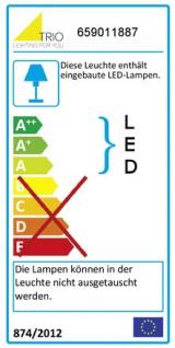Trio LED Deckenleuchte RL175, Deckenlampe Badleuchte IP44, inkl. Leuchtmittel EEK A+ 18W - Vorschau 2