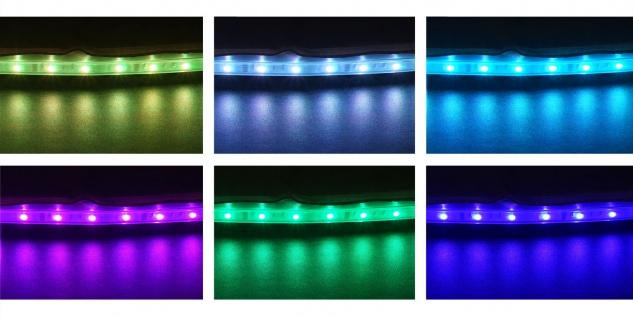 Whirlpool MSpa HWC-A62 Glow, 4 Personen In-/Outdoor LED heizbar aufblasbar Ø 180cm FI-Schalter - Vorschau 4