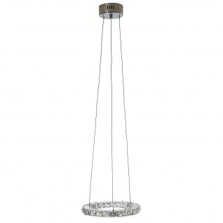 LED-Hängeleuchte HW152, Deckenlampe, Kristallglas 8W EEK A - Vorschau 3