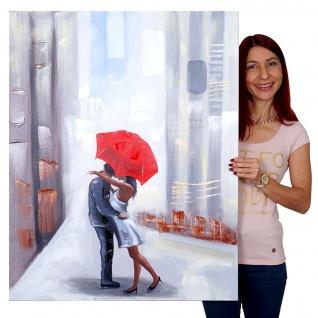 Ölgemälde Paar, 100% handgemaltes Wandbild Gemälde XL, 100x80cm