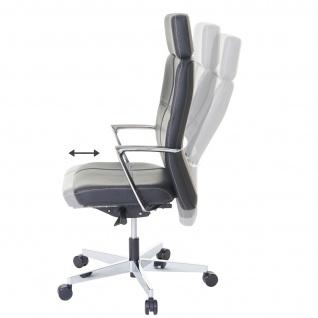 Bürostuhl MERRYFAIR Luton, Schreibtischstuhl, Sliding-Funktion Leder ISO9001 130kg belastbar - Vorschau 2