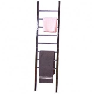 Handtuchhalter H94, 8 Sprossen, Vierkantstahl, 155x41x4cm
