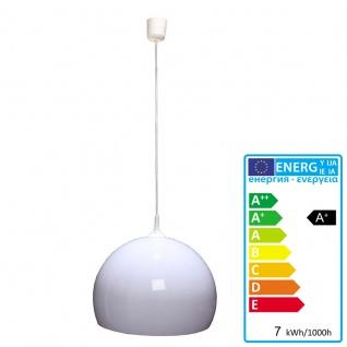 Reality|Trio LED-Deckenleuchte Pendelleuchte Lampe Lounge Deal 40cm Schirm 7W weiß